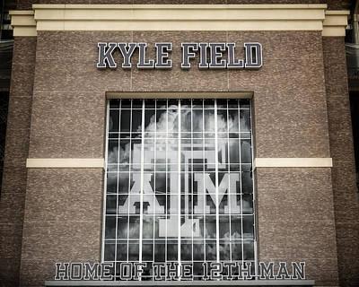 Kyle Field Poster by Joan Carroll