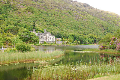 Kylemore Abbey 1 Poster by Mary Carol Story