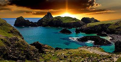Kynance Cove Cornwall Poster