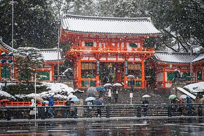 Kyoto Snowfall Poster