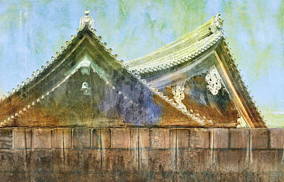 Kyoto Temple Poster by Carol Leigh