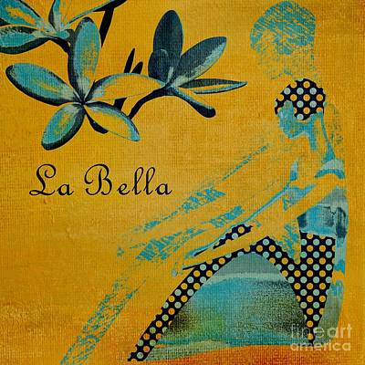 La Bella - 01t04yb Poster by Variance Collections