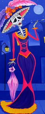 La Catrina Poster by Evangelina Portillo