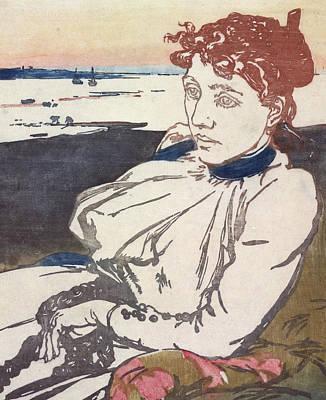 La Convalescante Mademoiselle Lepere Poster