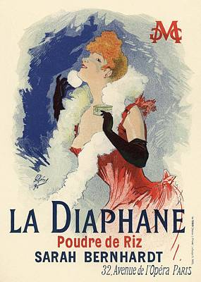 La Diaphane Poster by Gianfranco Weiss