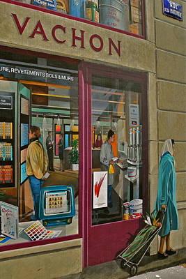 La Fresque Des Lyonnais IIi  Poster by Kirsten Giving