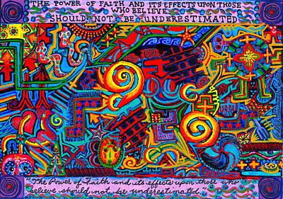 La Fuerza De La Fe Poster by Peter Gumaer Ogden