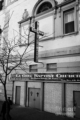 La Gree Baptist Church Harlem Former West End Theatre 125th Street New York City Poster by Joe Fox