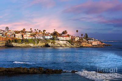 La Jolla California Usa Beach Poster by Gunter Nezhoda
