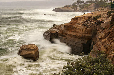 Poster featuring the photograph La Jolla Cove 1 by Lee Kirchhevel