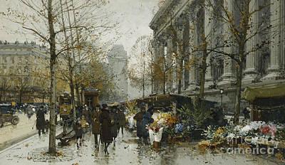 La Madelaine Paris Poster