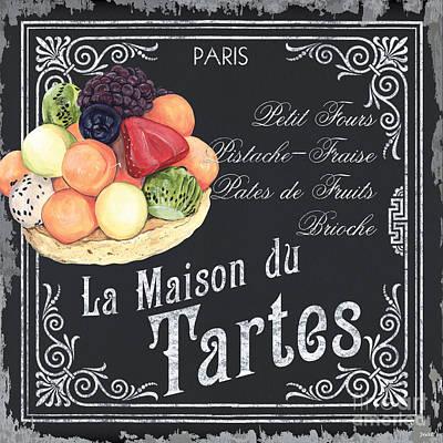 La Maison Du Tartes Poster by Debbie DeWitt
