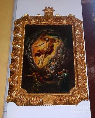 La Merced  Via Crucis 15 Poster by Vladimir Berrio Lemm