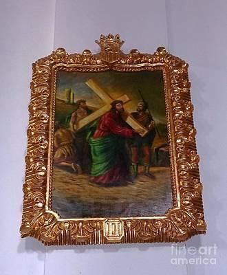 La Merced Via Crucis 2 Poster by Vladimir Berrio Lemm