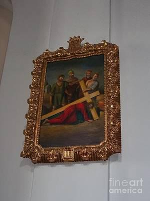 La Merced Via Crucis 3 Poster by Vladimir Berrio Lemm