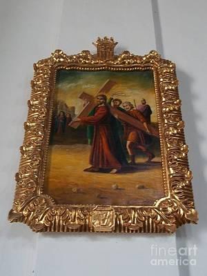 La Merced Via Crucis 5 Poster by Vladimir Berrio Lemm