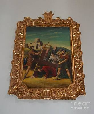 La Merced Via Crucis 7 Poster by Vladimir Berrio Lemm