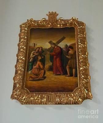 La Merced Via Crucis 8 Poster by Vladimir Berrio Lemm