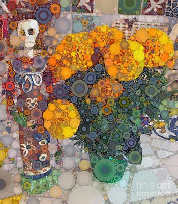 La Muerta Poster by Michelle Mark