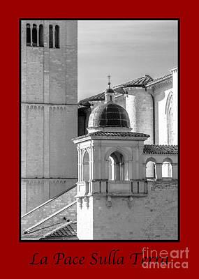 La Pace Sulla Terre With Basilica Details Poster