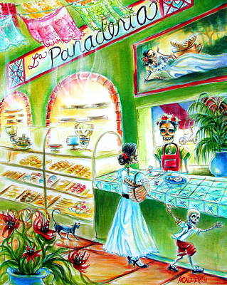 La Panaderia Poster by Heather Calderon