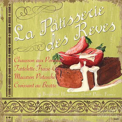 La Patisserie Des Reves 2 Poster by Debbie DeWitt
