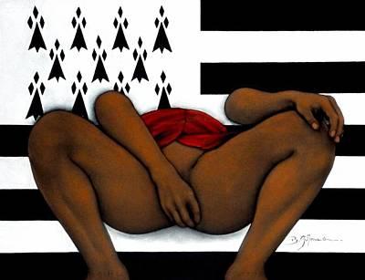 La Petite Bretonne Poster by Guillaume Bruno