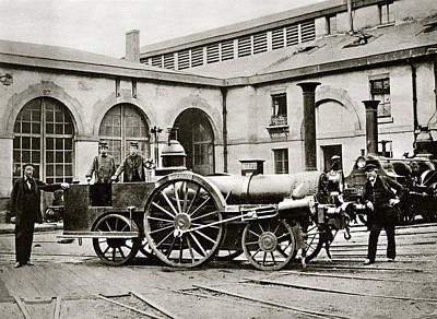 La Petite Locomotive Poster