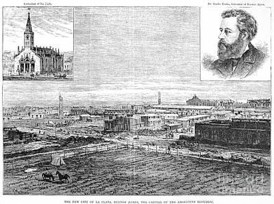 La Plata, Argentina, 1884 Poster