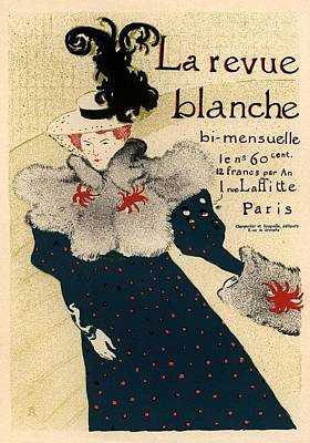 La Revue Blanche Poster by Gianfranco Weiss