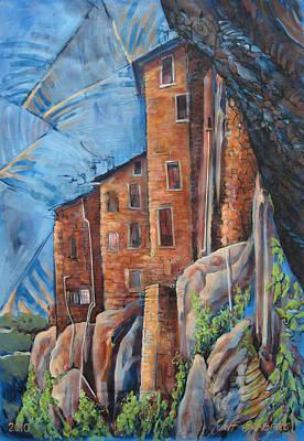 La Rocca Citta Lg Italy Poster