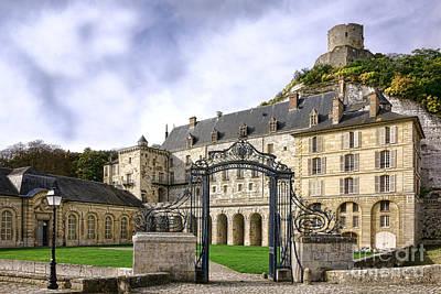 La Roche Guyon Castle Poster
