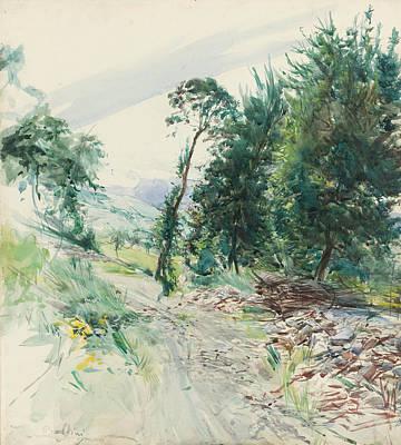 La Route Poster by Giovanni Boldini