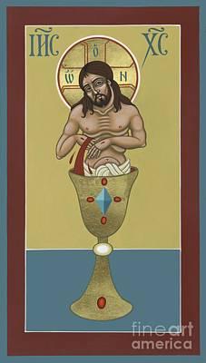 Poster featuring the painting La Sangre De Cristo 242 by William Hart McNichols