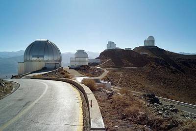 La Silla Observatory Poster