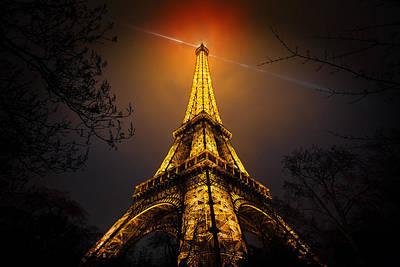 La Tour Eiffel Poster by Clemens Geiger
