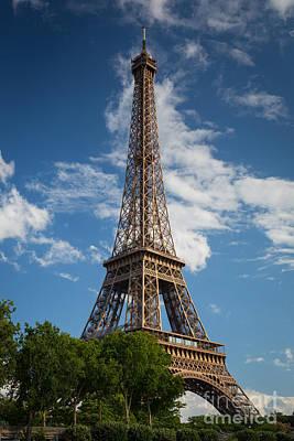 La Tour Eiffel Poster by Inge Johnsson