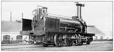 La Vaux Locomotive Poster by Cci Archives