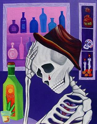 La Vida No Vale Nada Dos Poster by Evangelina Portillo