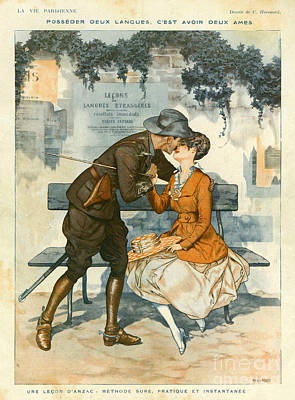 La Vie Parisienne 1916 1910s France Poster by The Advertising Archives