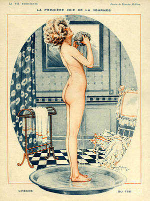 La Vie Parisienne 1918 1910s France Poster by The Advertising Archives