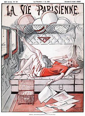 La Vie Parisienne, 1922 Poster by Granger