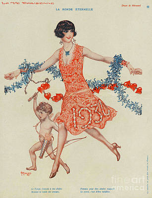 La Vie Parisienne 1930 1930s France Poster by The Advertising Archives