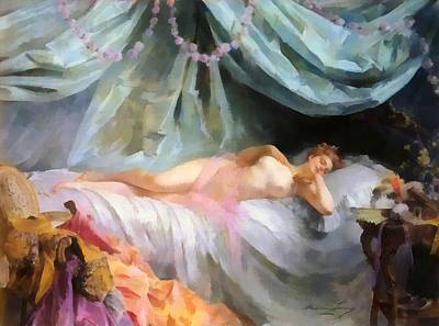 La Volupte Nude Poster