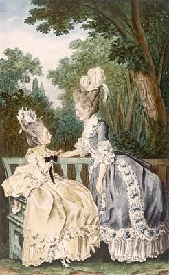 Ladies Morning Dress, 1771 Poster