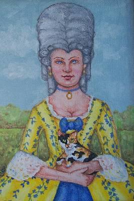 Lady Abigail Poster by Beth Clark-McDonal