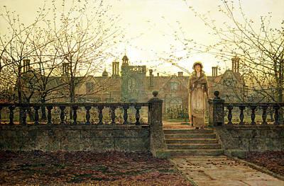 Lady Bountiful Poster by John Atkinson Grimshaw