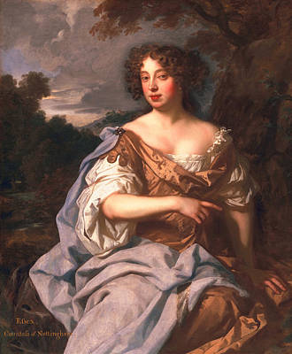 Lady Essex Finch, Later Countess Poster by Sir Peter Lely