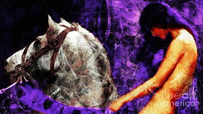 Lady Godiva Revisited 20140315v2c3 Horizontal Long Poster