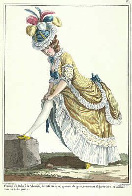 Lady In A Polish-style Dress Poster by British Library